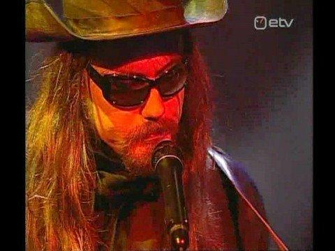 Paul Cole performing on Estonian National TV - ETV