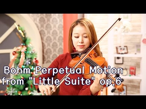 "Bohm Perpetual Motion from ""Little Suite"" op.6_Suzuki violin Vol.4"