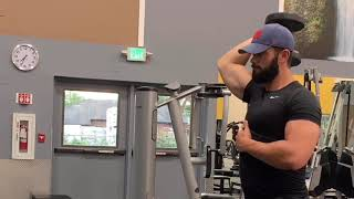DB Overhead Tricep Extensions