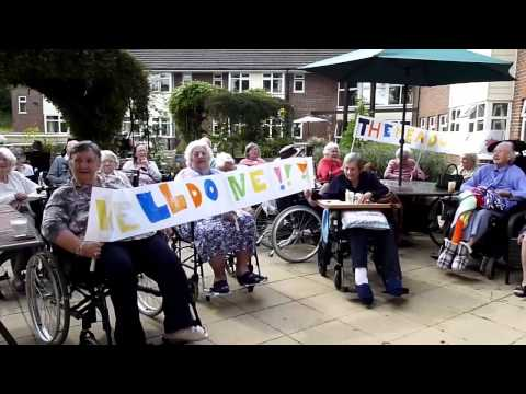 Oxfordshire residents thank care home staff