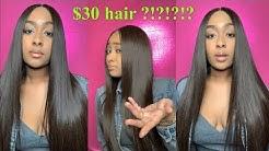 Baddie on a budget | $30 Hair store Hair  | Affordable hair