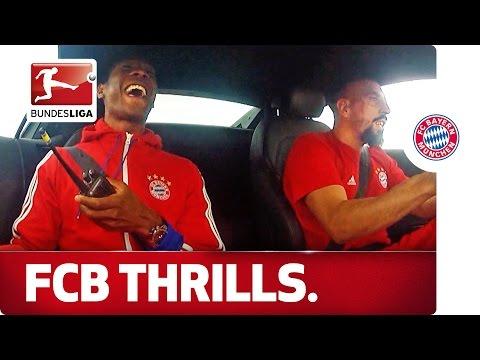 Bayern München Stars Hit the Test Track