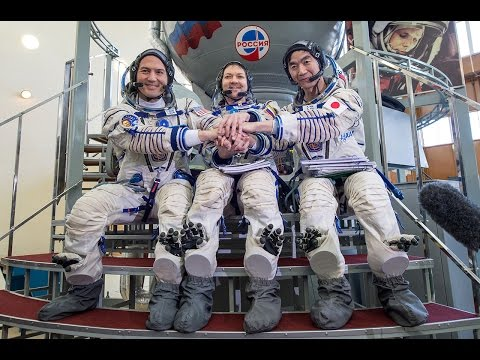 Soyuz rocket with three astronauts launches for ISS