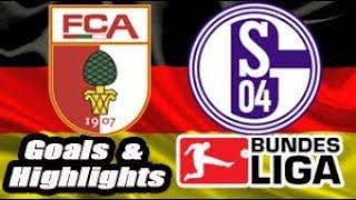 Augsburg vs Schalke 04 - 2018-19 Bundesliga Highlights #15