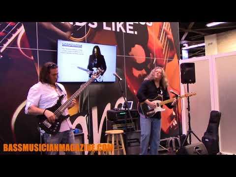 Bass Musician Magazine NAMM 2018 - Tony Puleo & Scott Abene