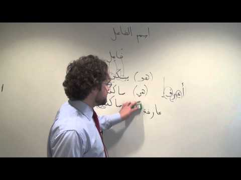 Arabic Grammar: Constructing and Using Active Participles in Arabic اسم الفاعل