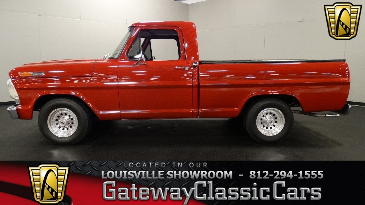 1967 ford f100 louisville showroom stock 1406
