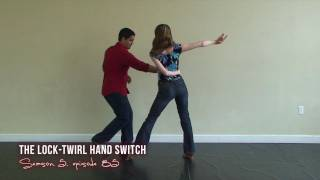 Advanced Salsa Dance Moves - Lock Twirl Hand Switch
