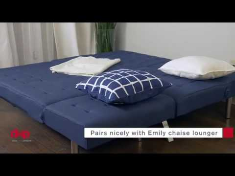 dhp emily convertible linen futon review 2016 dhp emily convertible linen futon review 2016   youtube  rh   youtube
