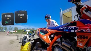 Rode Wireless Go - (Review / Test at MUC Motocross) 2019