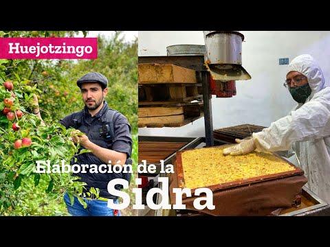 Elaboración de la Sidra en Huejotzingo Puebla