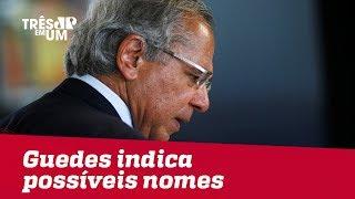 Paulo Guedes anuncia possíveis nomes para o BB, CEF e Ipea