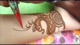 How To Do mehndi designs for hands:Draw Henna Mehendi Tatto 4 Eid