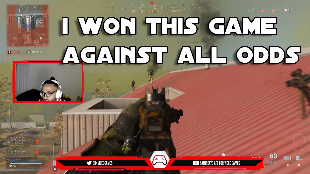 I WON THIS GAME AGAINST ALL ODDS!! (MODERNWARE WARZONE)