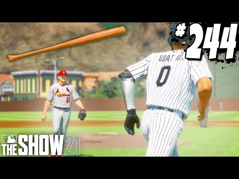 THE PITCHER YELLED AT ME FOR MY BAT FLIP! MLB The Show 21   Road To The Show Gameplay #244