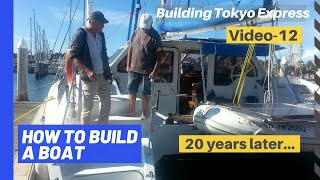 How to build a boat - Catamaran - part 10 - the boat today