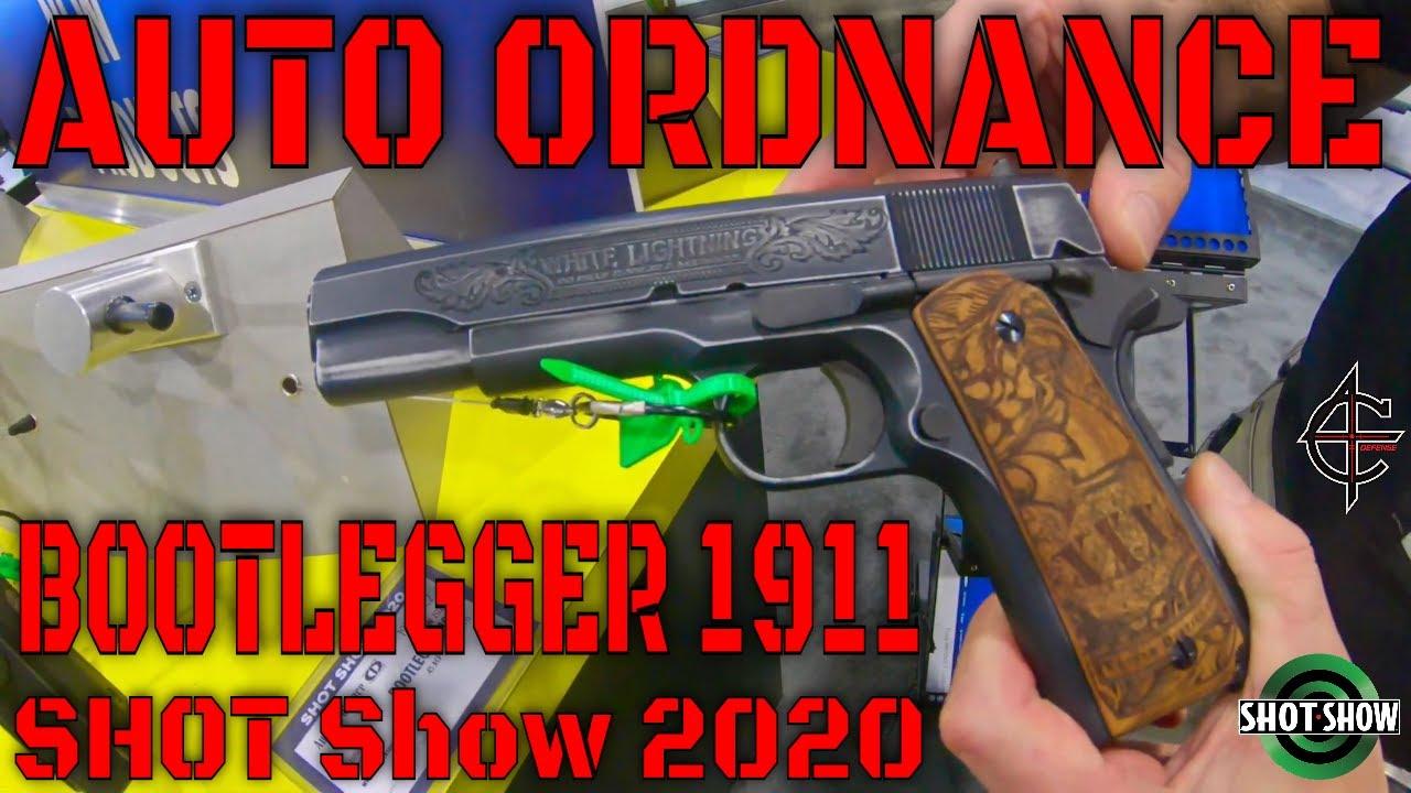 Auto Ordnance Bootlegger 1911 SHOT Show 2020