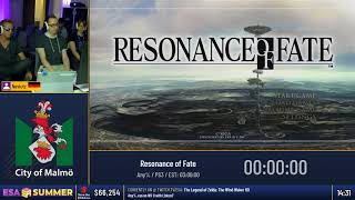 #ESASummer18 - Resonance of Fate [Any%] by Neviutz