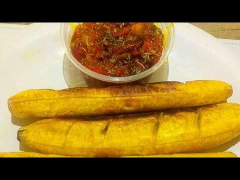 Here's How You Can Make Your Own Roasted Plantain At Home Using Just A Frying Pan. 2019.
