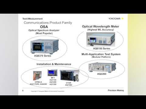 Optical Wavelength Measurement Fundamentals Webinar