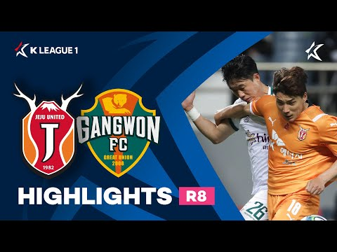 Jeju Utd Gangwon Goals And Highlights