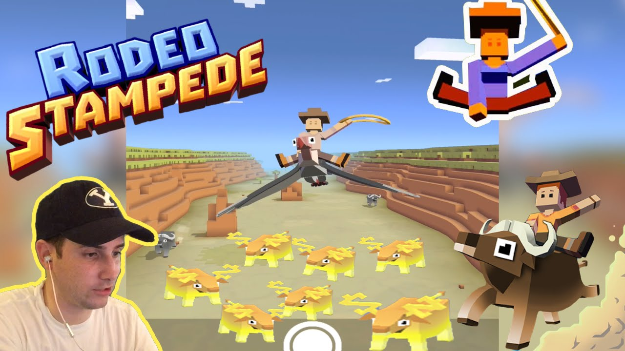 Rodeo Stampede Tame New Animals Op Vulture Gameplay