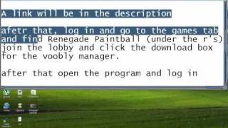 How To Play Splat Renegade Paintball On Multiplayer (2011) *works!*