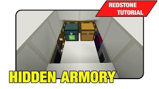 "Hidden Armory ""Tutorial"" (Minecraft Xbox/Ps3 TU16)"