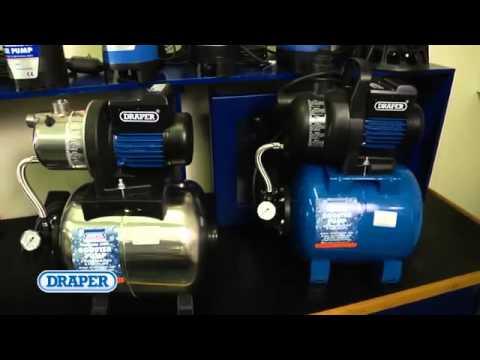 Draper Water Pumps Range from WWW.RAPID-TOOLS.CO.UK