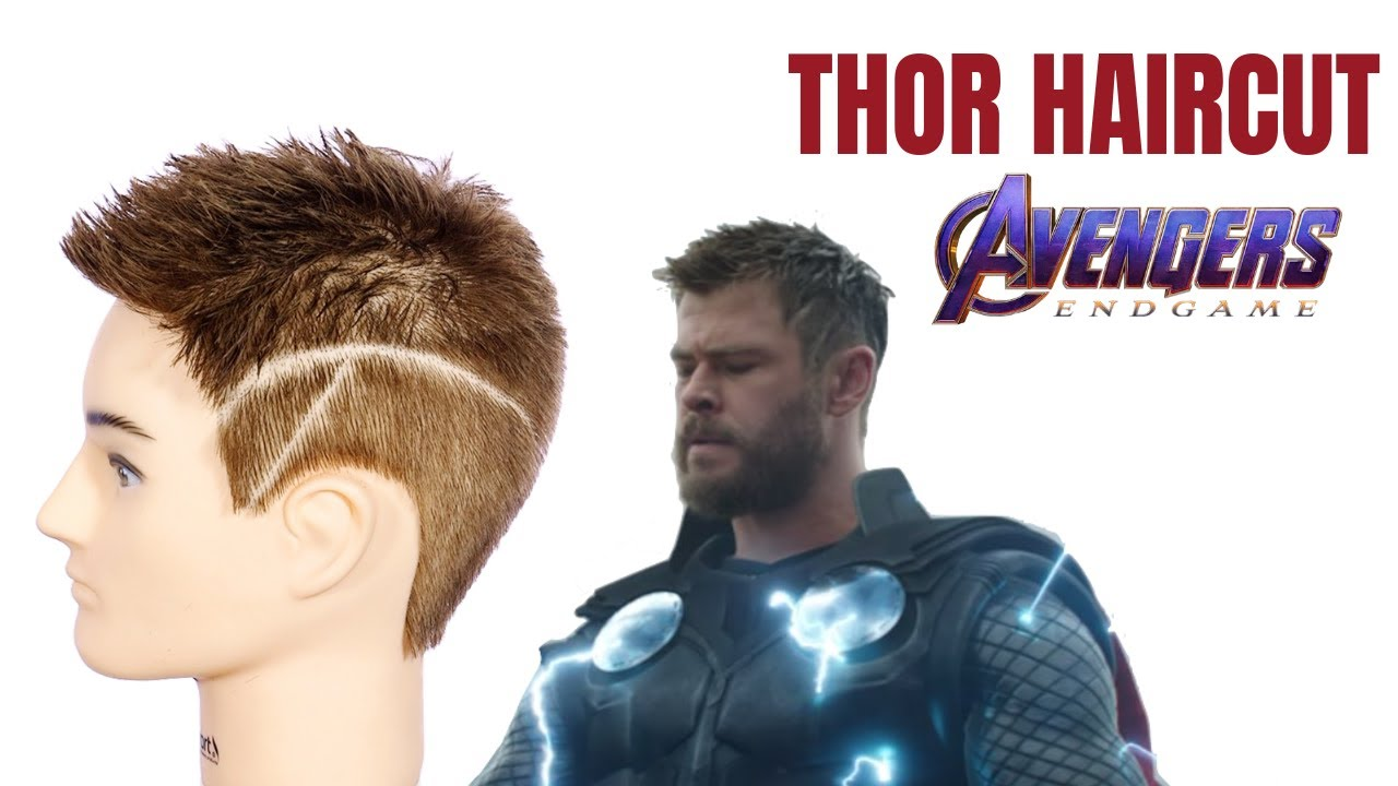 Thor Avengers Endgame Haircut Tutorial Thesalonguy