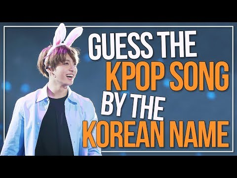 GUESS THE KPOP SONG BY THE KOREAN TITLE | Part 4 | KPOP Challenge | Difficulty: Medium