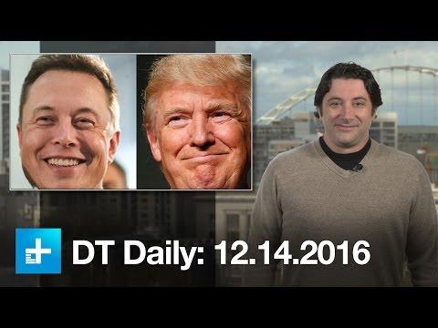 Trump meets with tech heavyweights, counts Elon Musk as an advisor