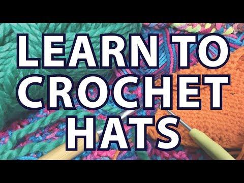 Learn to Crochet a Hat