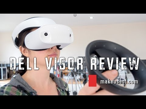 Dell Visor Mixed Reality Headset Review [Updated]