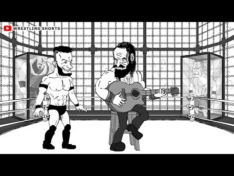 WWE Elimination Chamber Cartoon feat. Ronda Rousey, Finn Balor, Braun Strowman, John Cena and more