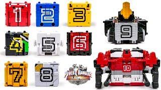 PowerRangers DOUBUTSUSENTAI ZYUOHGER DX WILD TOUSAI DODEKA KING 12345678910WeaponCube Transformation