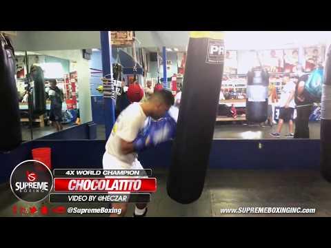 "Roman ""Chocolatito"" Gonzalez getting ready for Rungvisai Rematch"