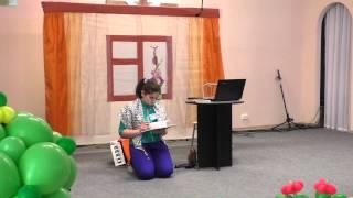 Сценка на христианском фестивале детского творчества 25.04.2015.