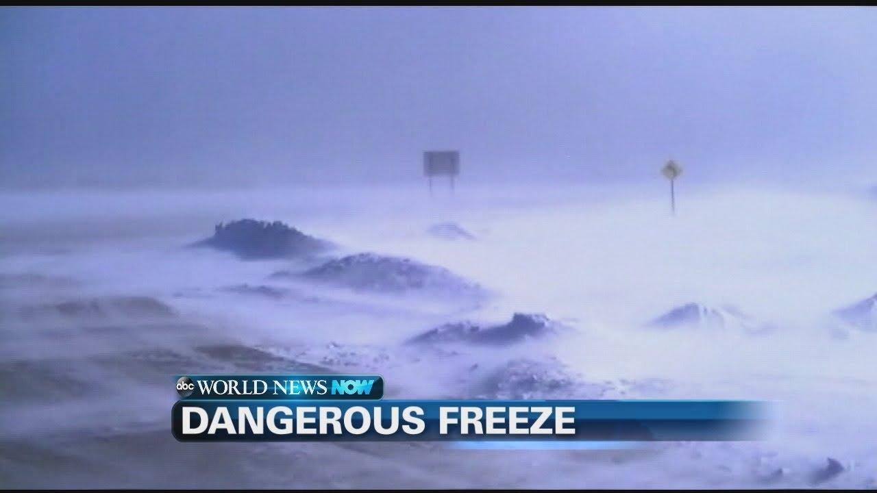 Extreme Weather Rare Winter Storm Hits South Abc News