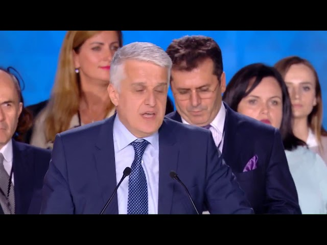 Speech by Albanian delegation at Free Iran_ The Alternative Gathering 2018 Villepinte , Paris