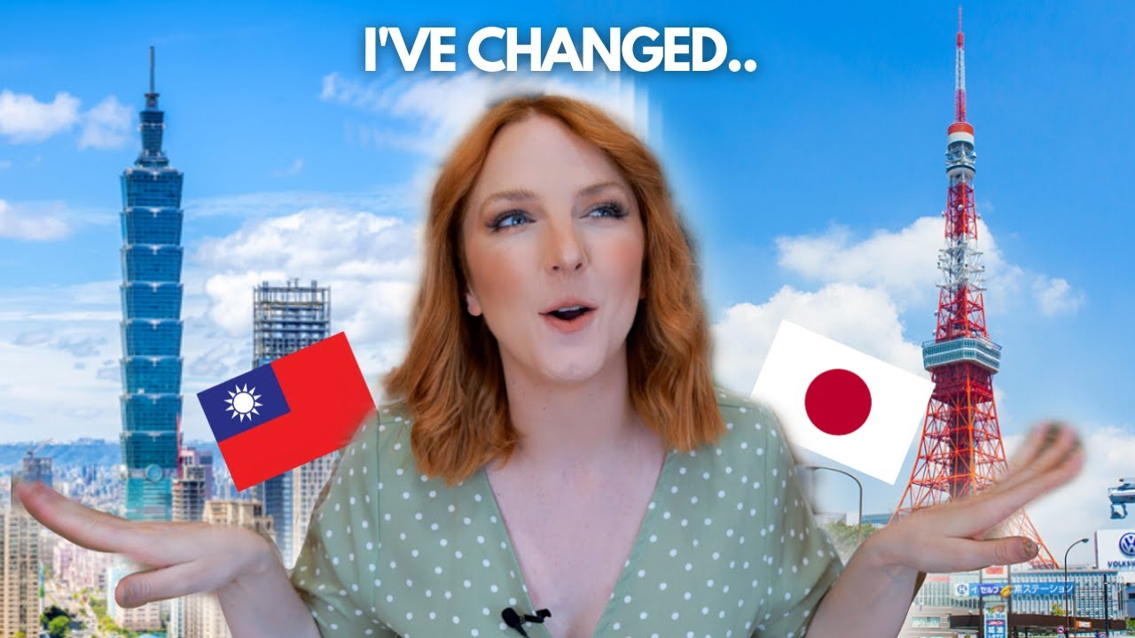 Has Taiwan changed me!? Habits I brought from living in Japan!? 🇹🇼🇯🇵🇨🇦 [台灣改變了我 !?]