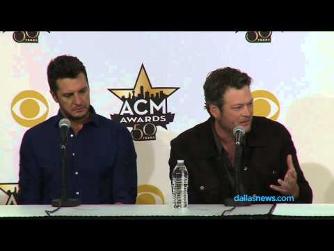 Blake Shelton, Luke Bryan on N. Texas country music fans