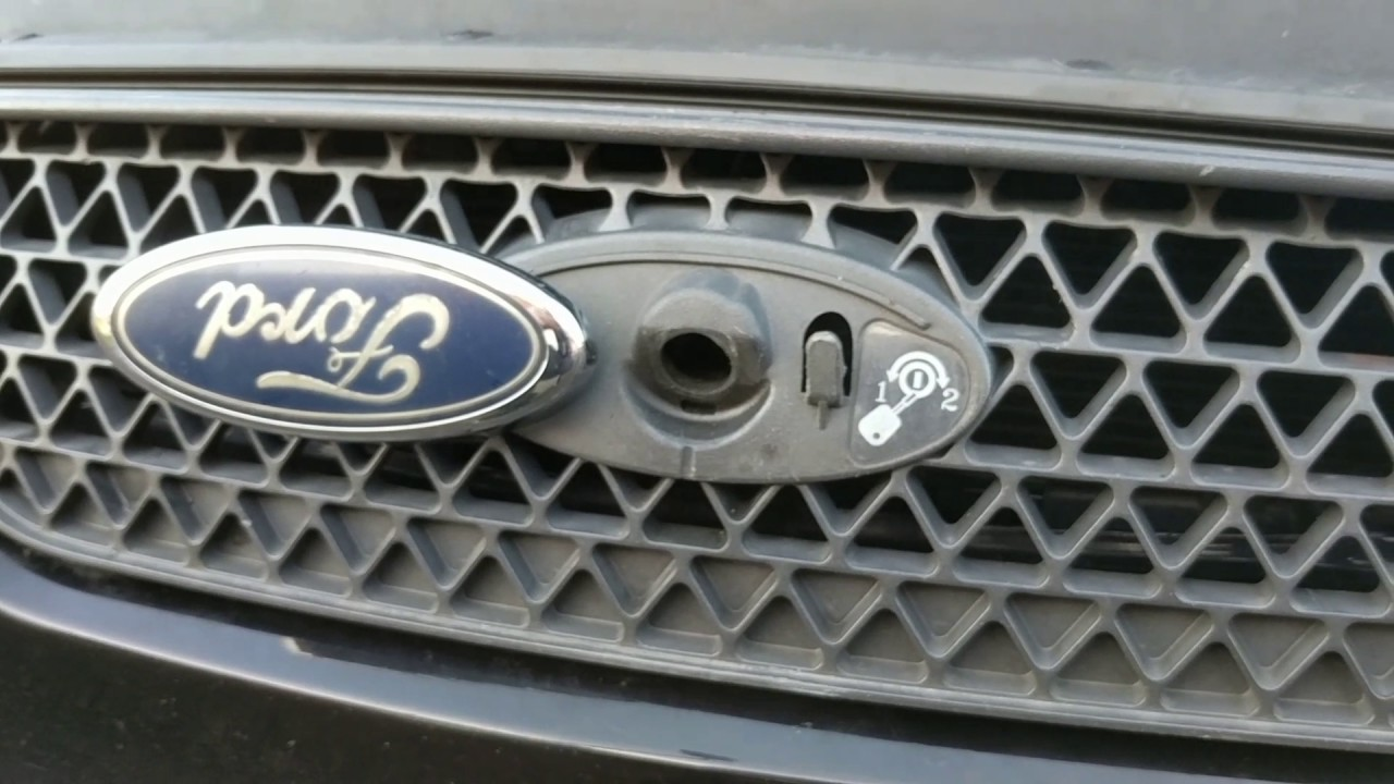 Ford Focus Bumper Diagram How To Open Ford Bonnet Catch Lock Problem Youtube