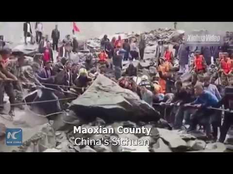 Rescue underway as 141 missing in SW China landslide
