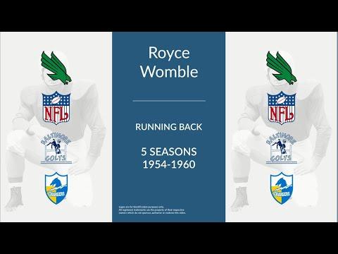 Royce Womble: Football Running Back
