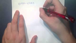 Schriftlich multiplizieren - Rechnen ohne Taschenrechner