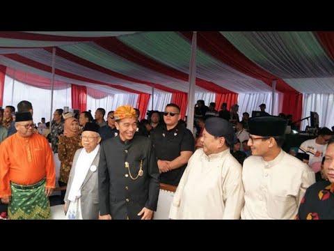 Jokowi-Ma'ruf & Prabowo-Sandi Ikuti Karnaval Kampanye Damai