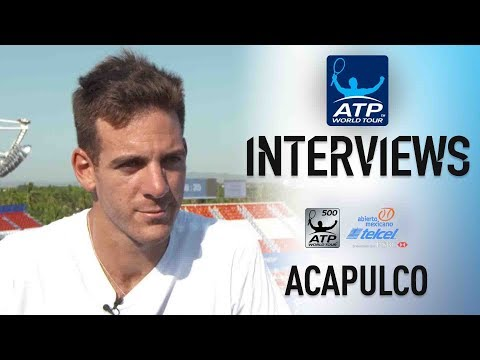 Del Potro Reflects On Top 10 Return Ahead of Acapulco