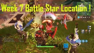 """Follow The Treasure Map Found In Pleasant Park"" Week 7 Challenge Fortnite Free Battle Star"