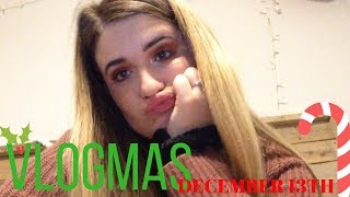 Listen To Me Rant (A Stressful Senior) VLOGMAS #13 // Camsglam